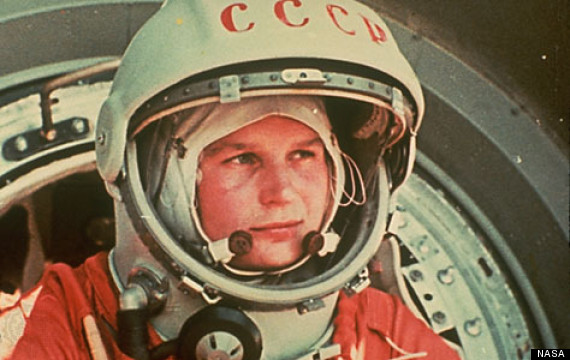 50 years women space