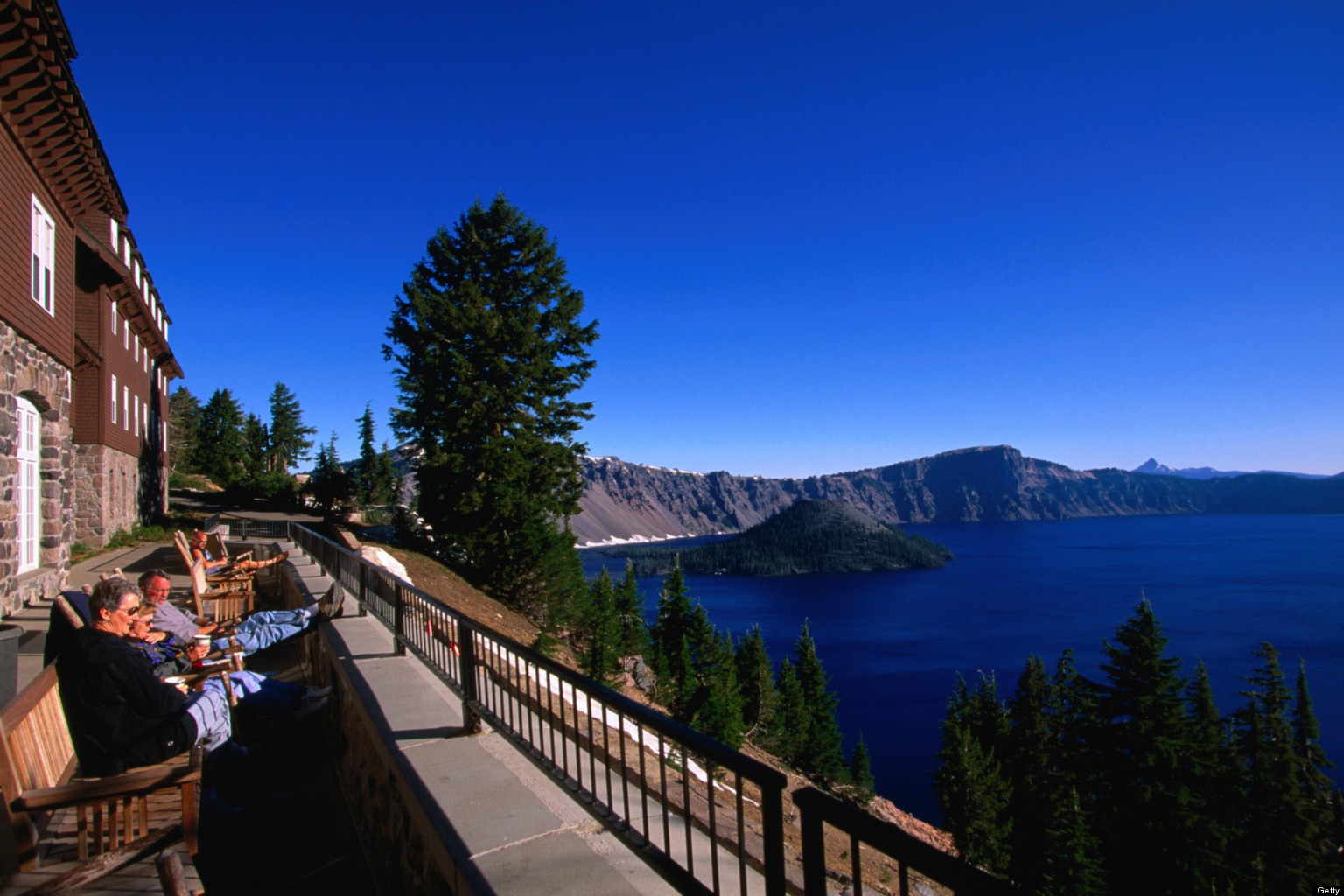 Crater Lake National Park Lodge Restaurant