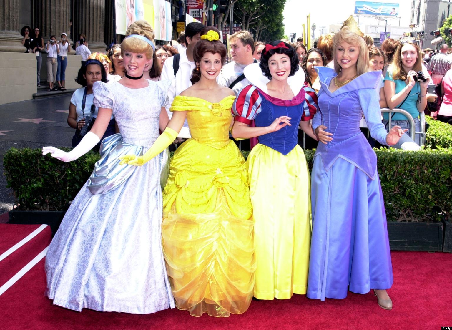 What The Disney Princesses