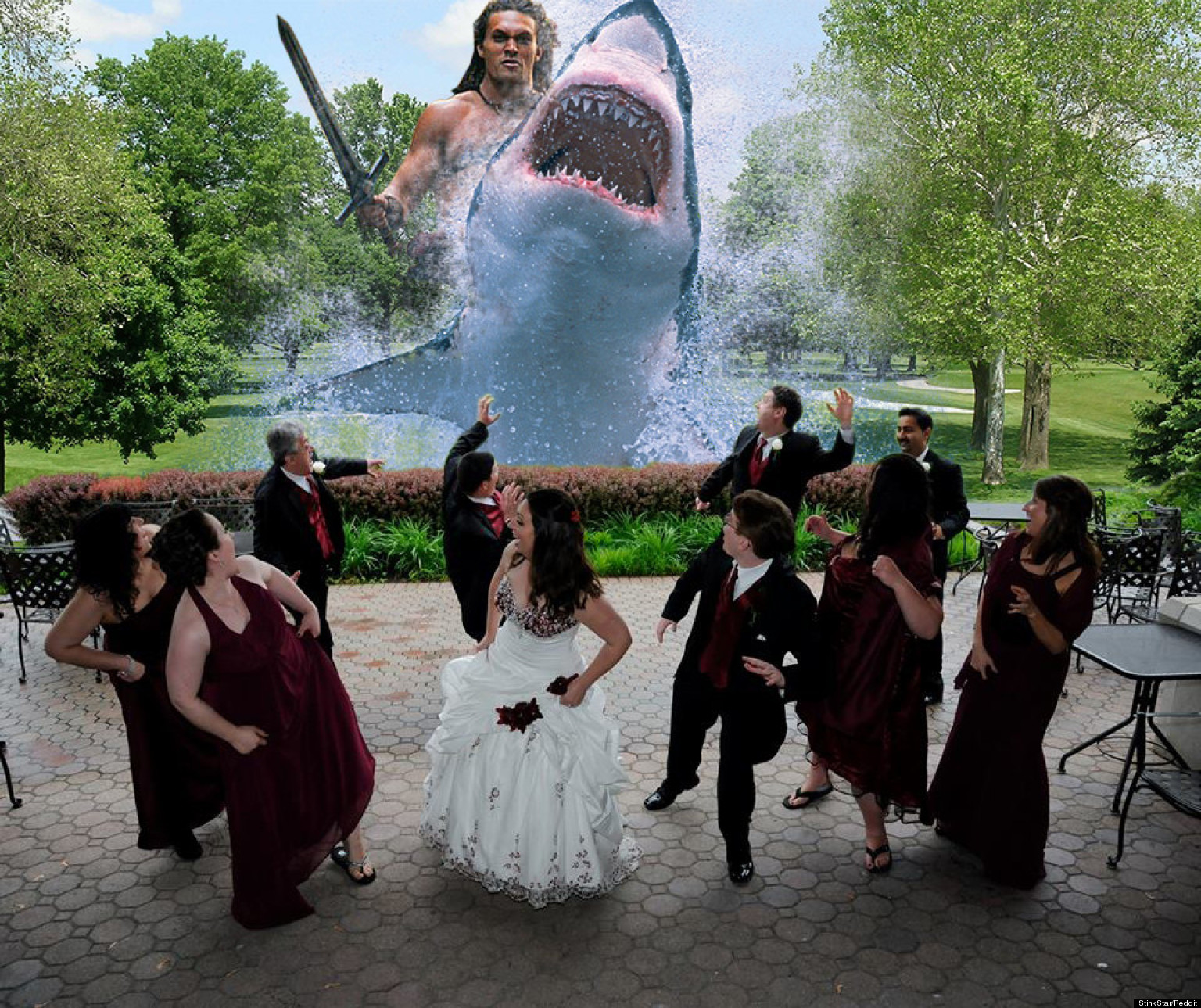 funny wedding photo trend isn 39 t so funny anymore huffpost
