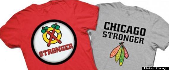CHICAGO STRONGER T SHIRT
