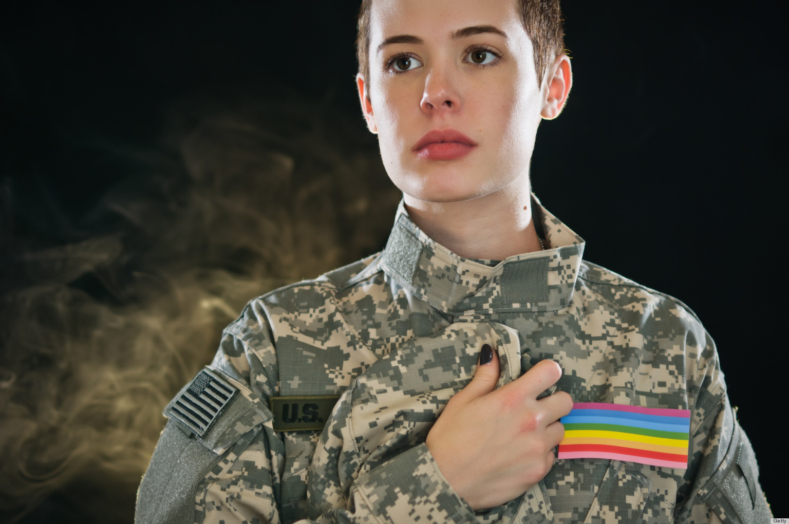 Homosexuals military girl