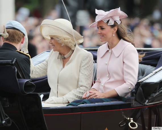 Kate Middleton Trooping The Colour: Duchess Celebrates Queen