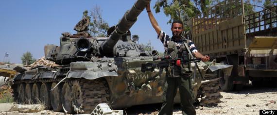 SYRIA ARMY REBELS