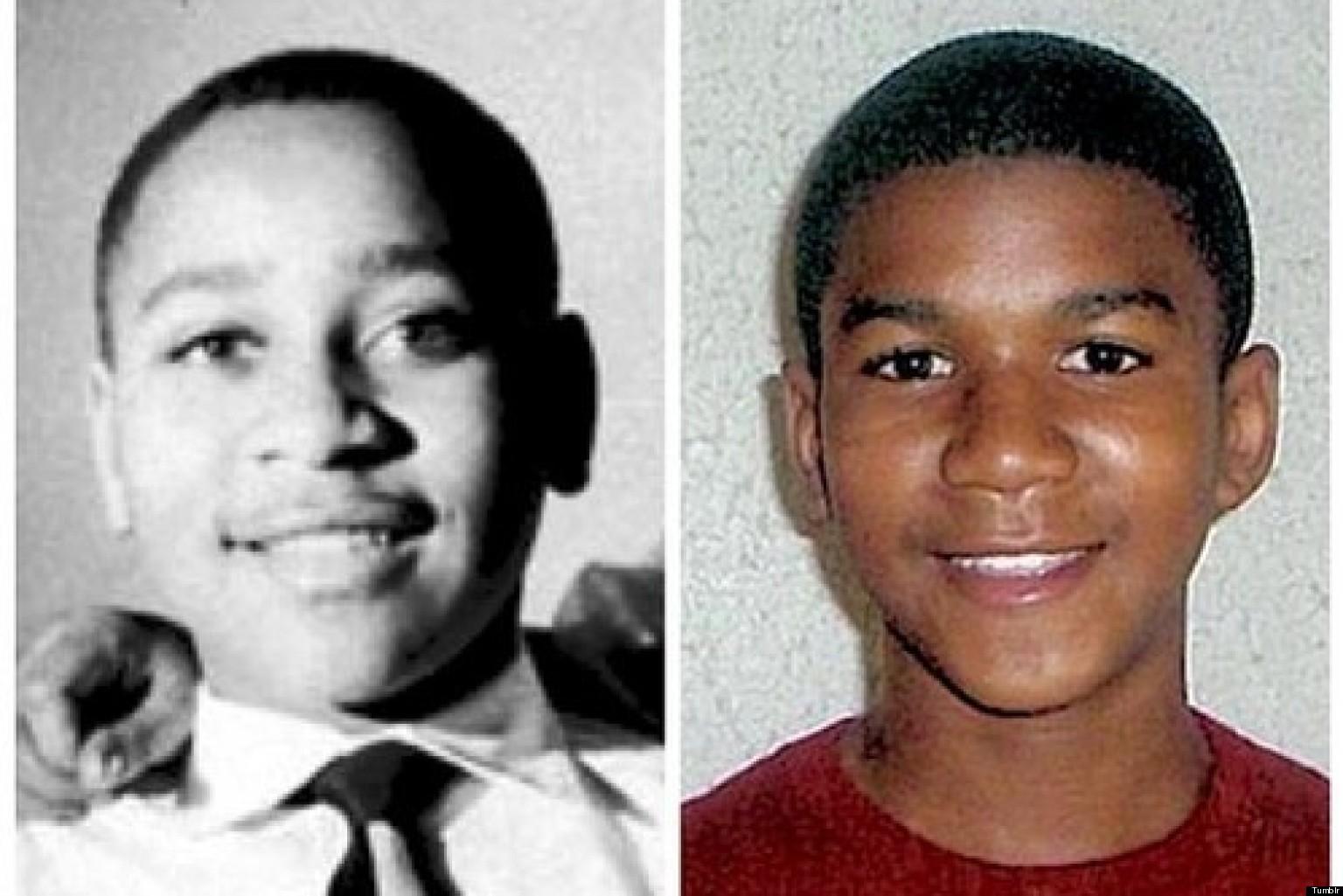 Trayvon martin body face down