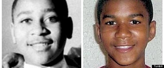 Trayvon Martin Emmett Till