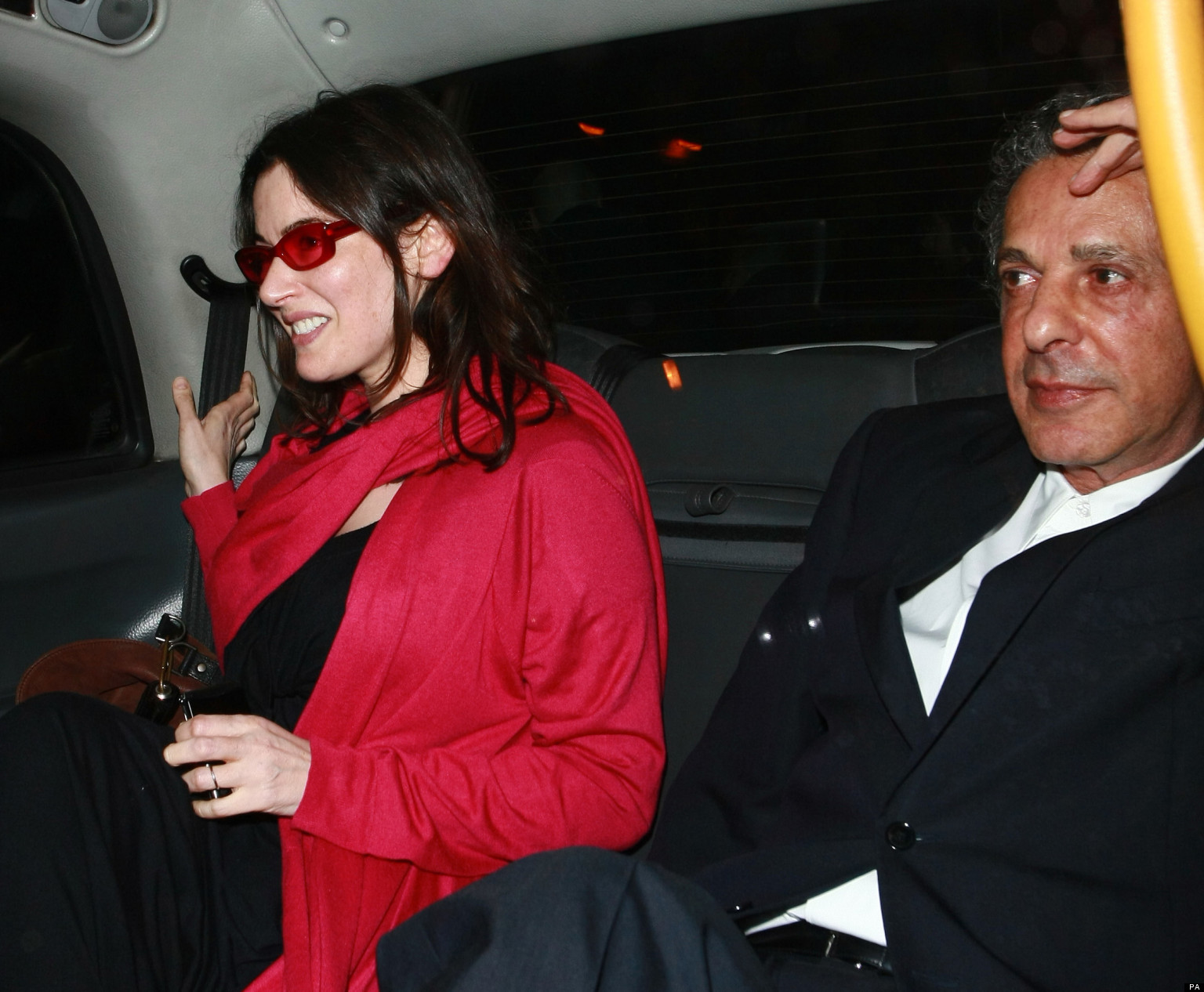Fans Shocked By Pictures Of Nigella Lawson Showing Her Husband Charles Saatchis Hands Around