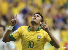 Neymar se estrena en la Confederaciones con un golazo (VÍDEO)