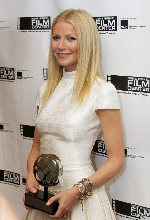gwyneth paltrow white dress