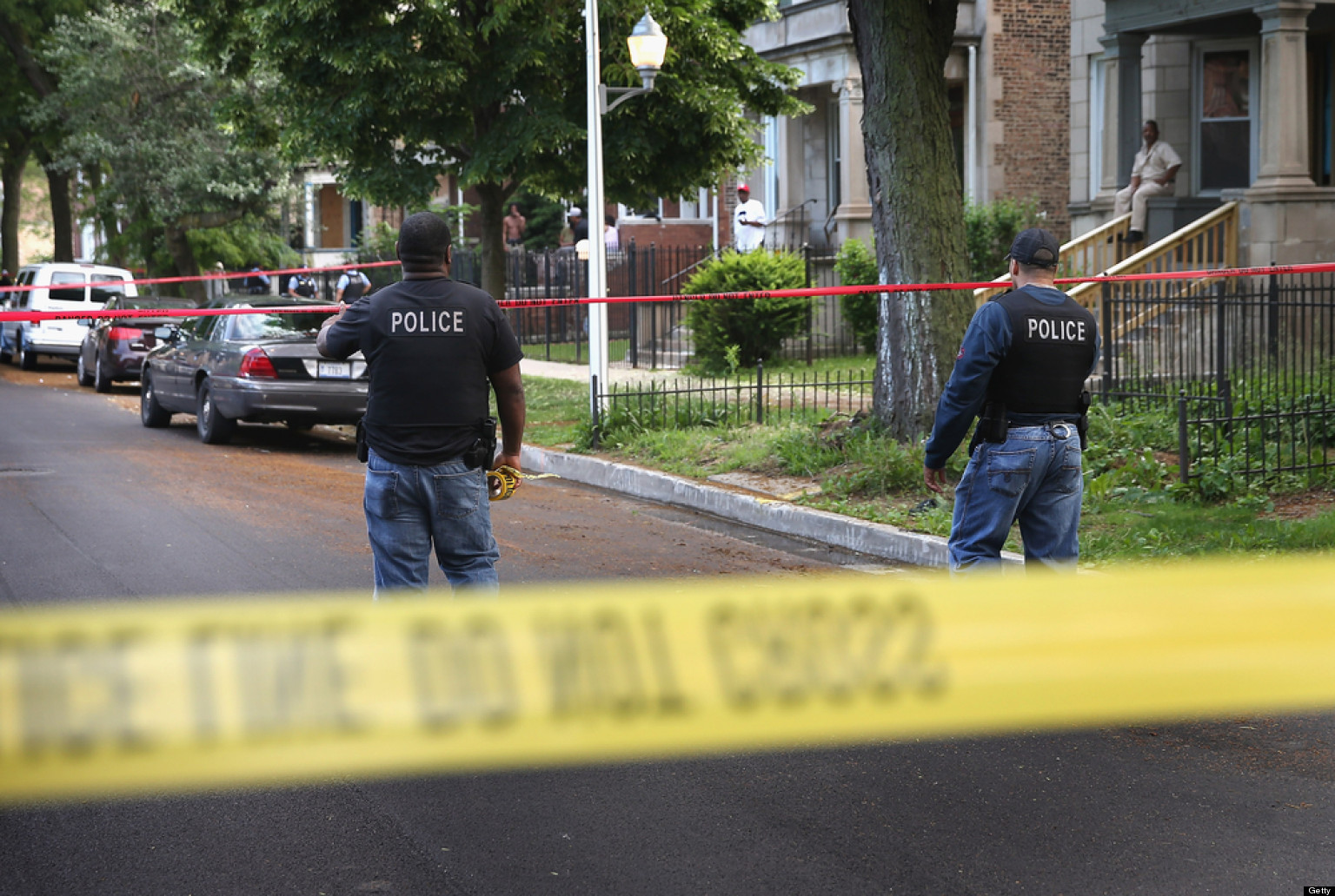 chicago shootings  killed  wounded overnight sunday  shot  weekend huffpost