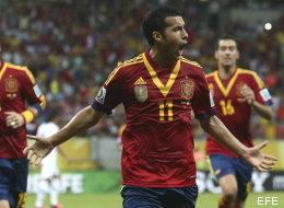 Exhibición de calidad de España ante Uruguay (2-1) (VÍDEO)
