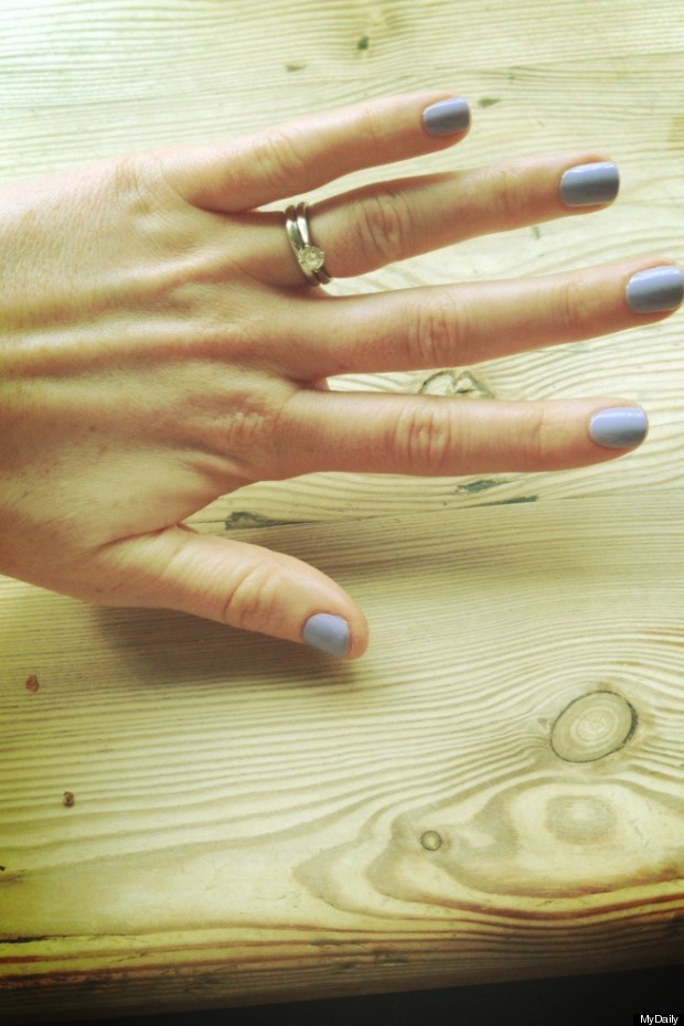aveda stress relief manicure