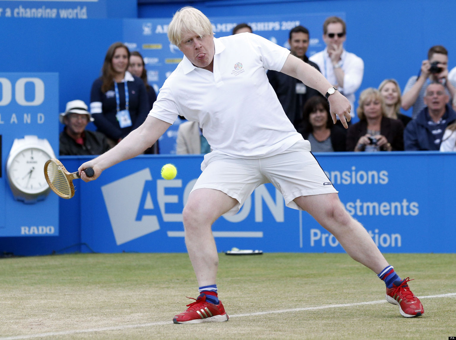 boris johnson playing tennis is the most ridiculous thing