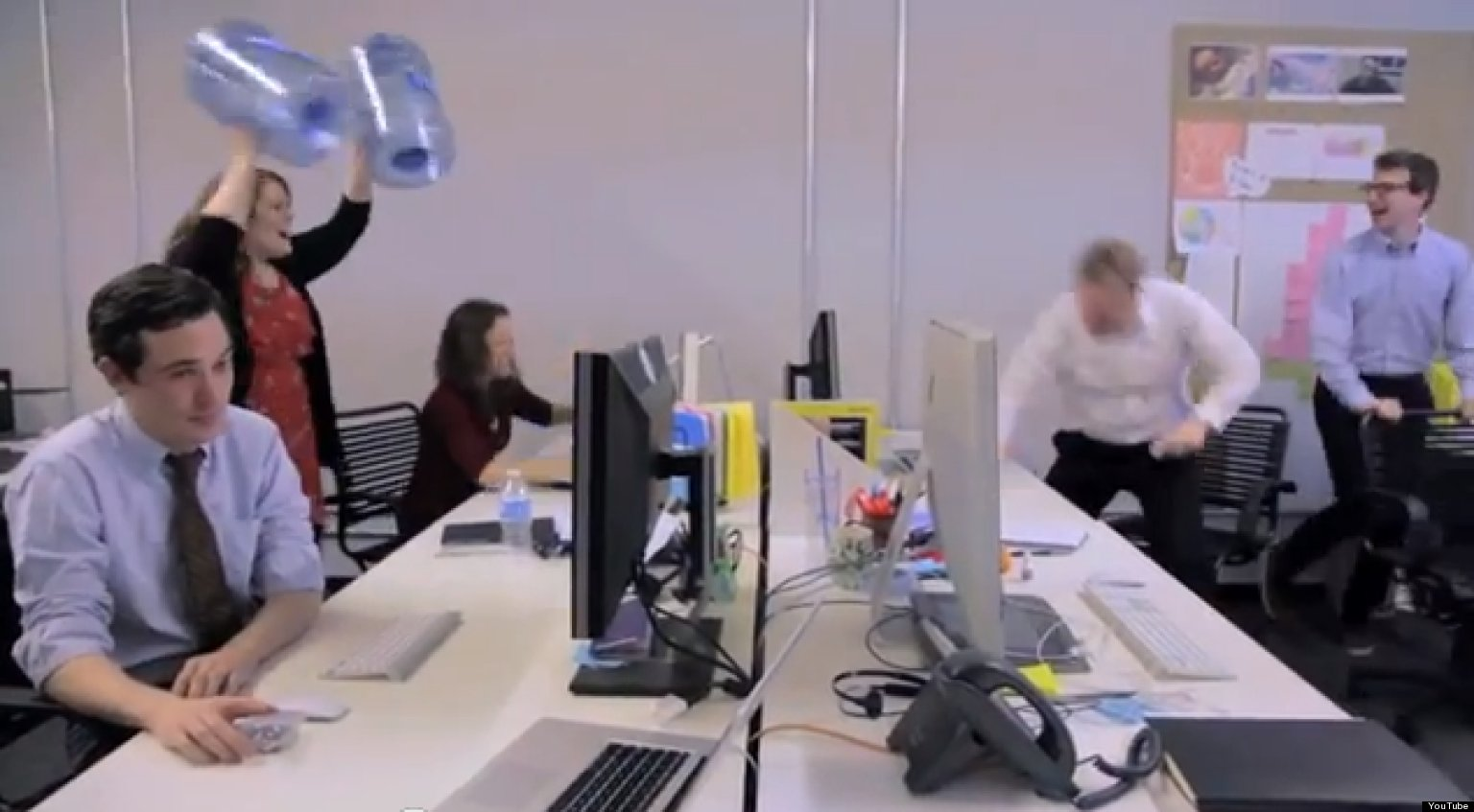 Stomp With Office Furniture Is Mostly Just Annoying