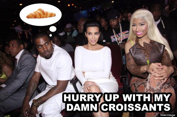 kanye west croissants