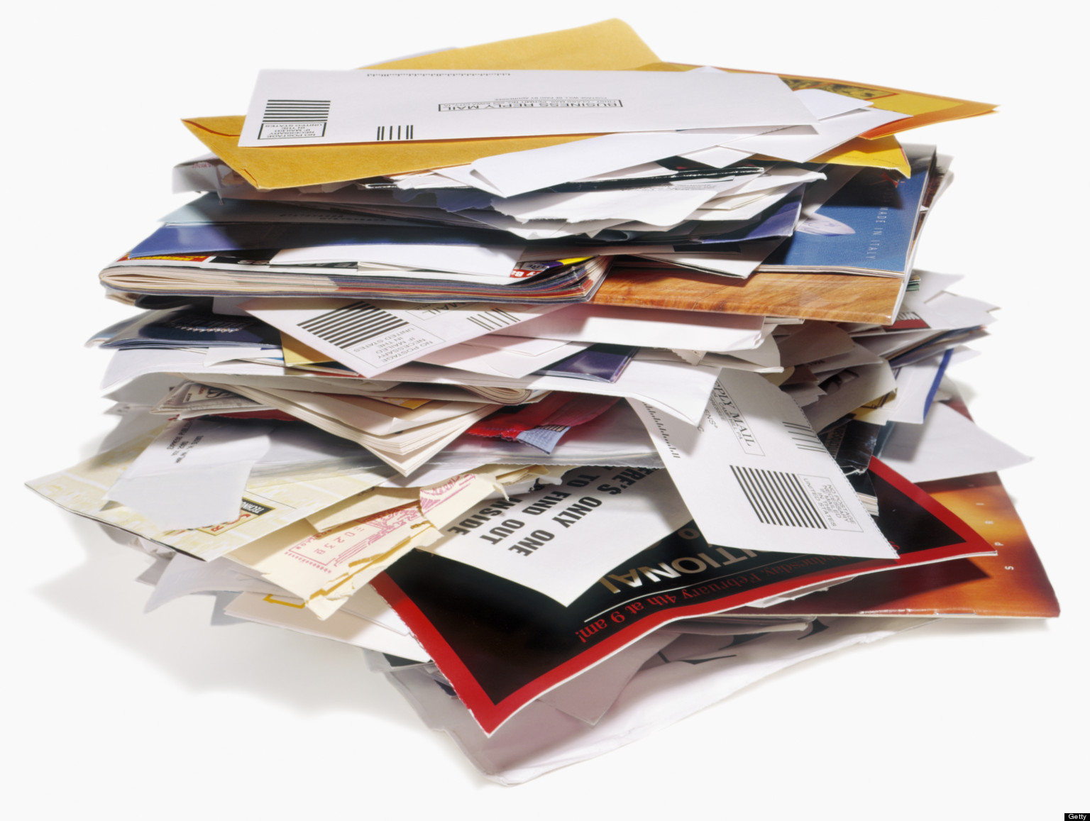 Image result for pile of mail