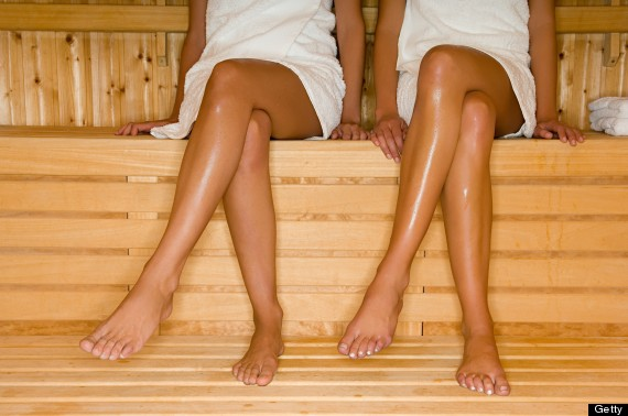 sauna legs