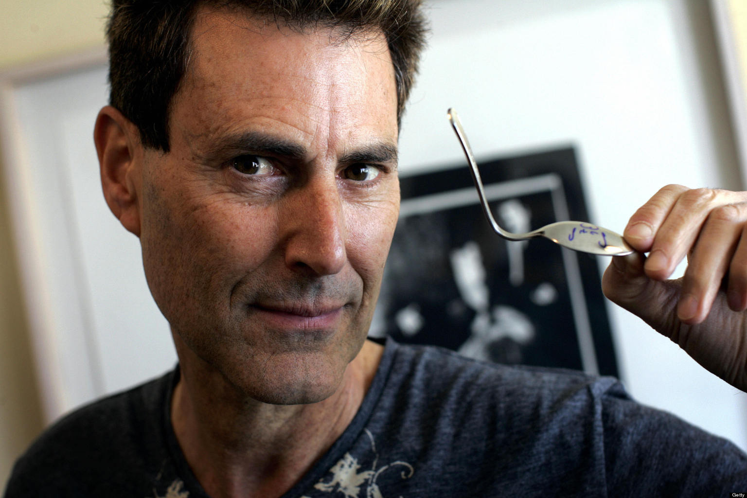 Uri Geller Documentary Claims That Spoonbending Psychic