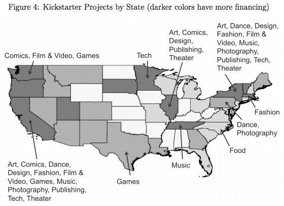 kickstarter map