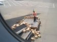 China Air Freight Worker Throws Boxes Like It Ain't No Thang (VIDEO)