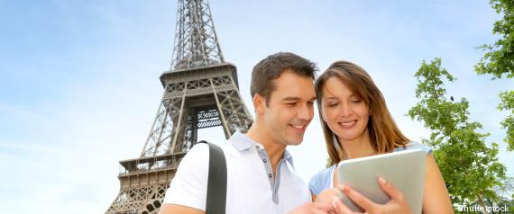 TOURISTES ETRANGERS PARIS