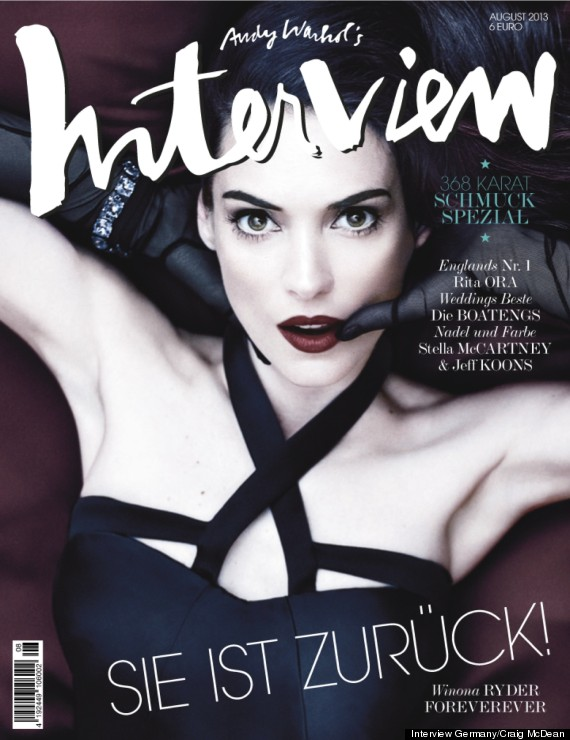 winona ryder interview magazine