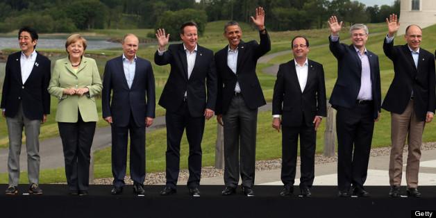 Resultado de imagem para pictures of G8 leaders
