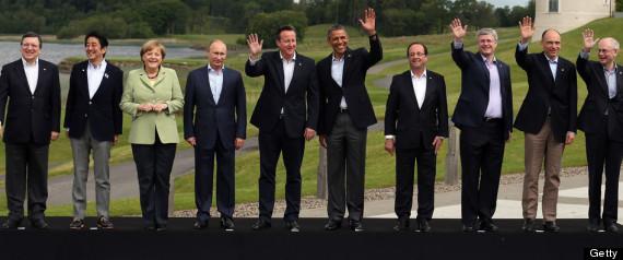 G8 LEADERS WAVE