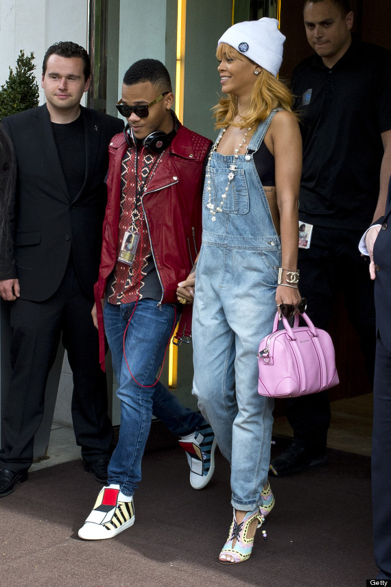 Rihanna And Her Brother Hold Hands: Get To Know Rajad ...