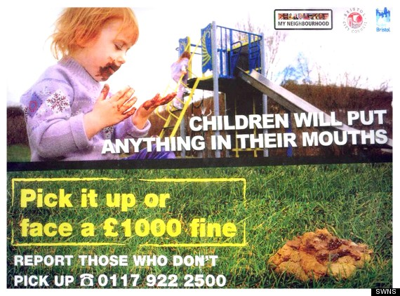 dog poo report campaign children bristol