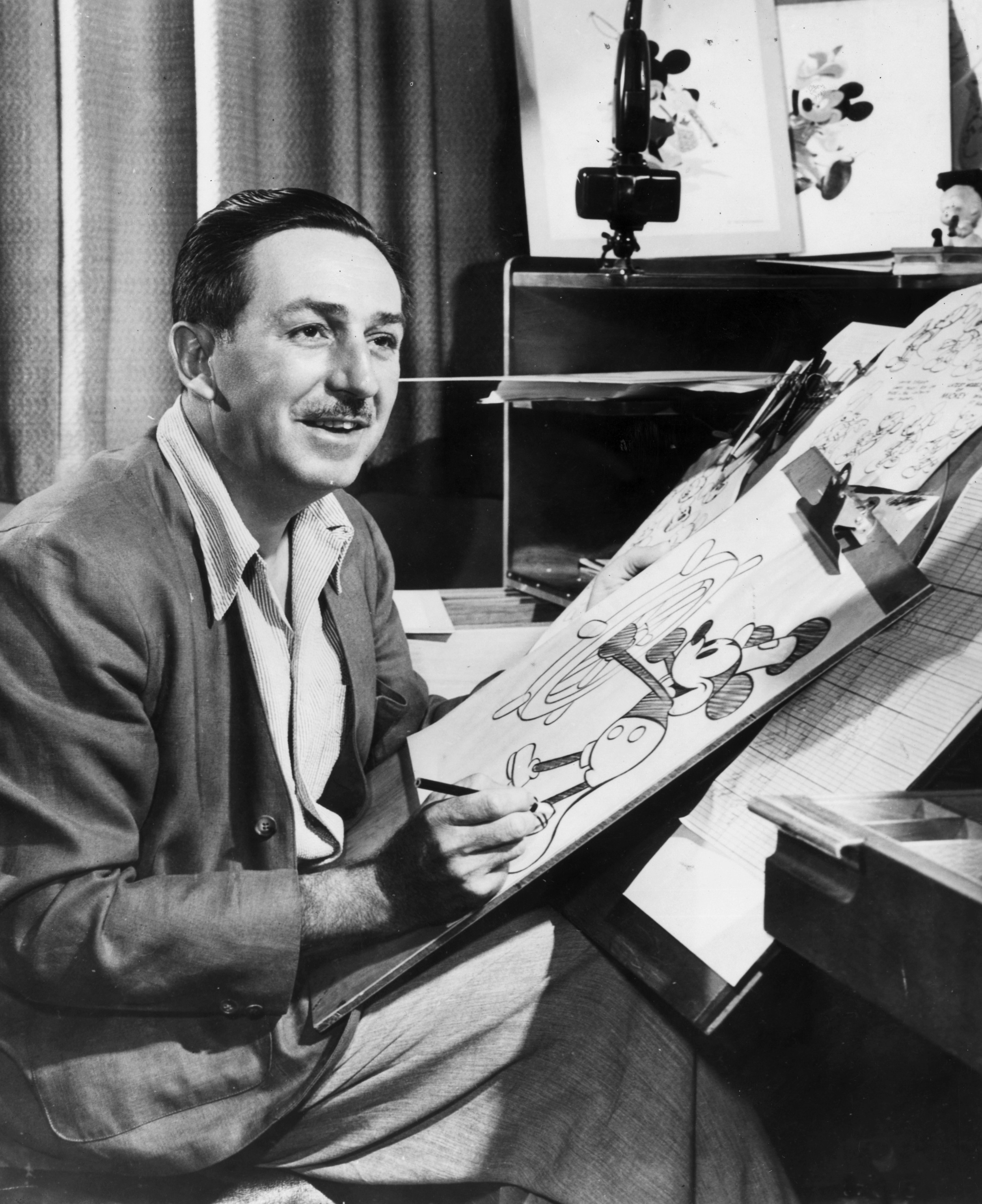 walt disney founder