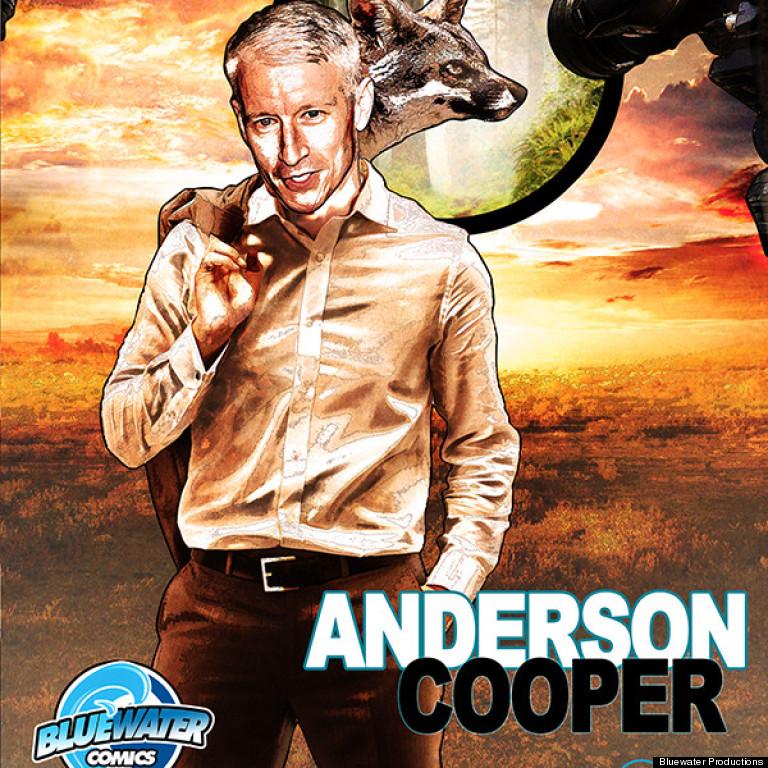 anderson cooper comic book