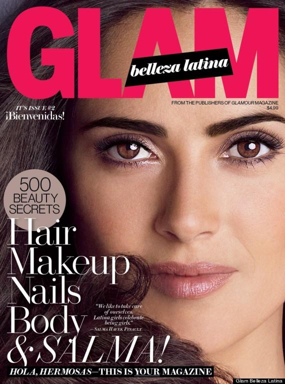 salma hayek glam belleza latina