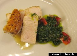Cooking Off the Cuff: Fish With Dill Pesto
