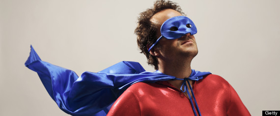 HOW BEING A PARENT IS LIKE BEING A SUPERHERO