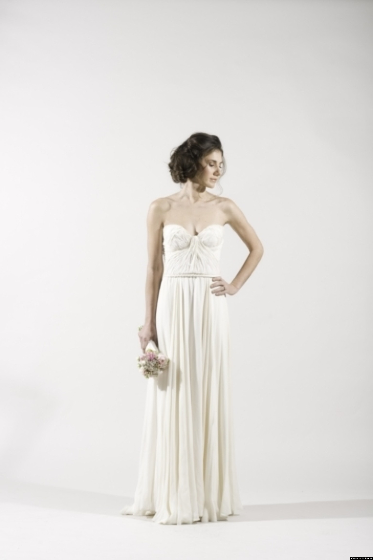 Grecian wedding dresses for a goddess inspired look for Greece style wedding dresses