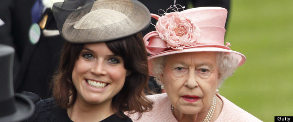 PRINCESS EUGENIE QUEEN