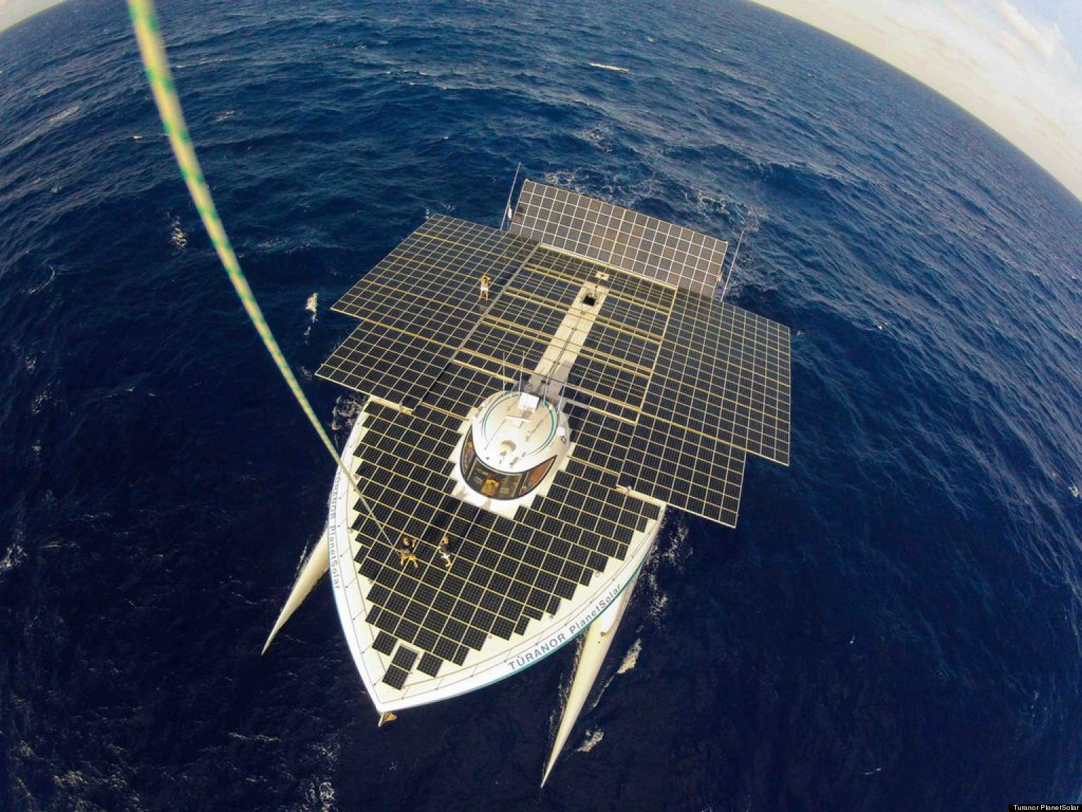 World S Largest All Solar Powered Boat Turanor