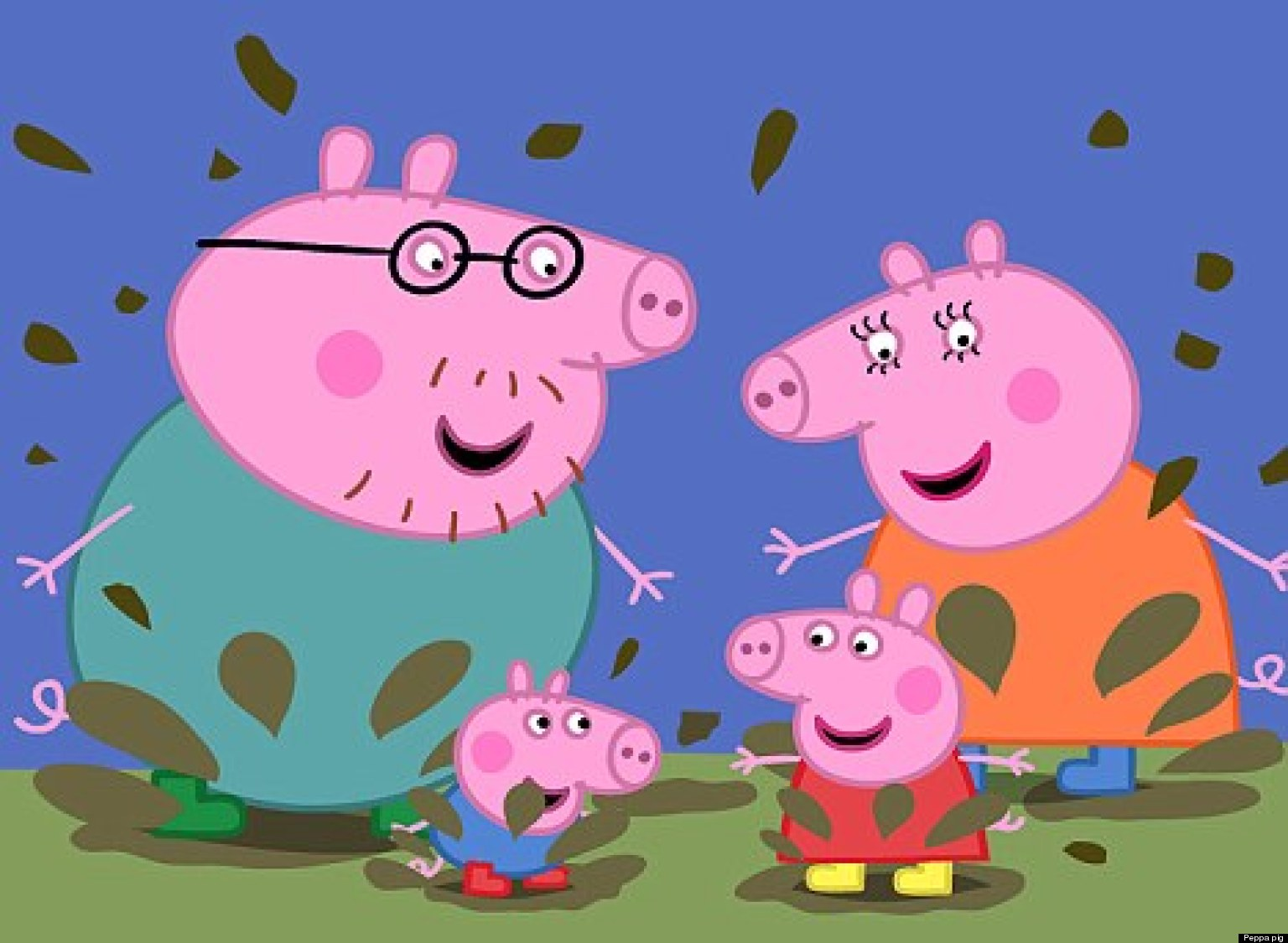 peppa pig facebook page hacked with go to hell message