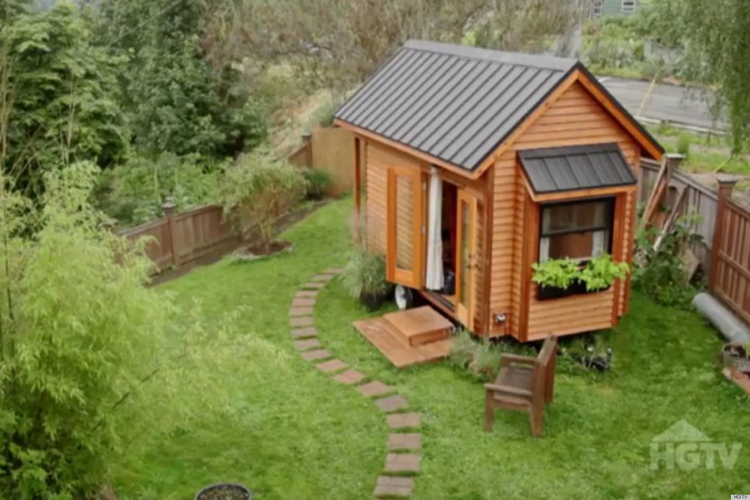 Tammy Strobels 128 Square Foot Tiny Home Gets Featured On