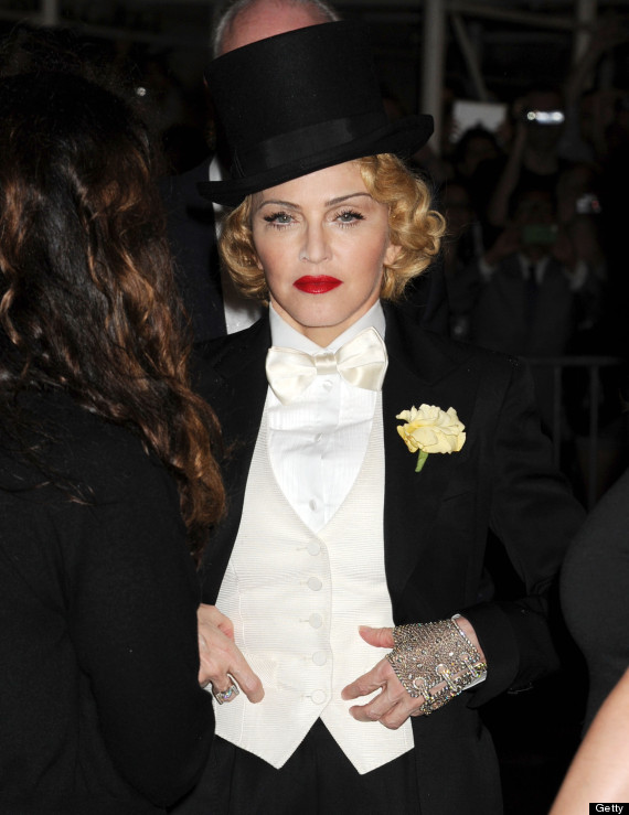 madonna top hat