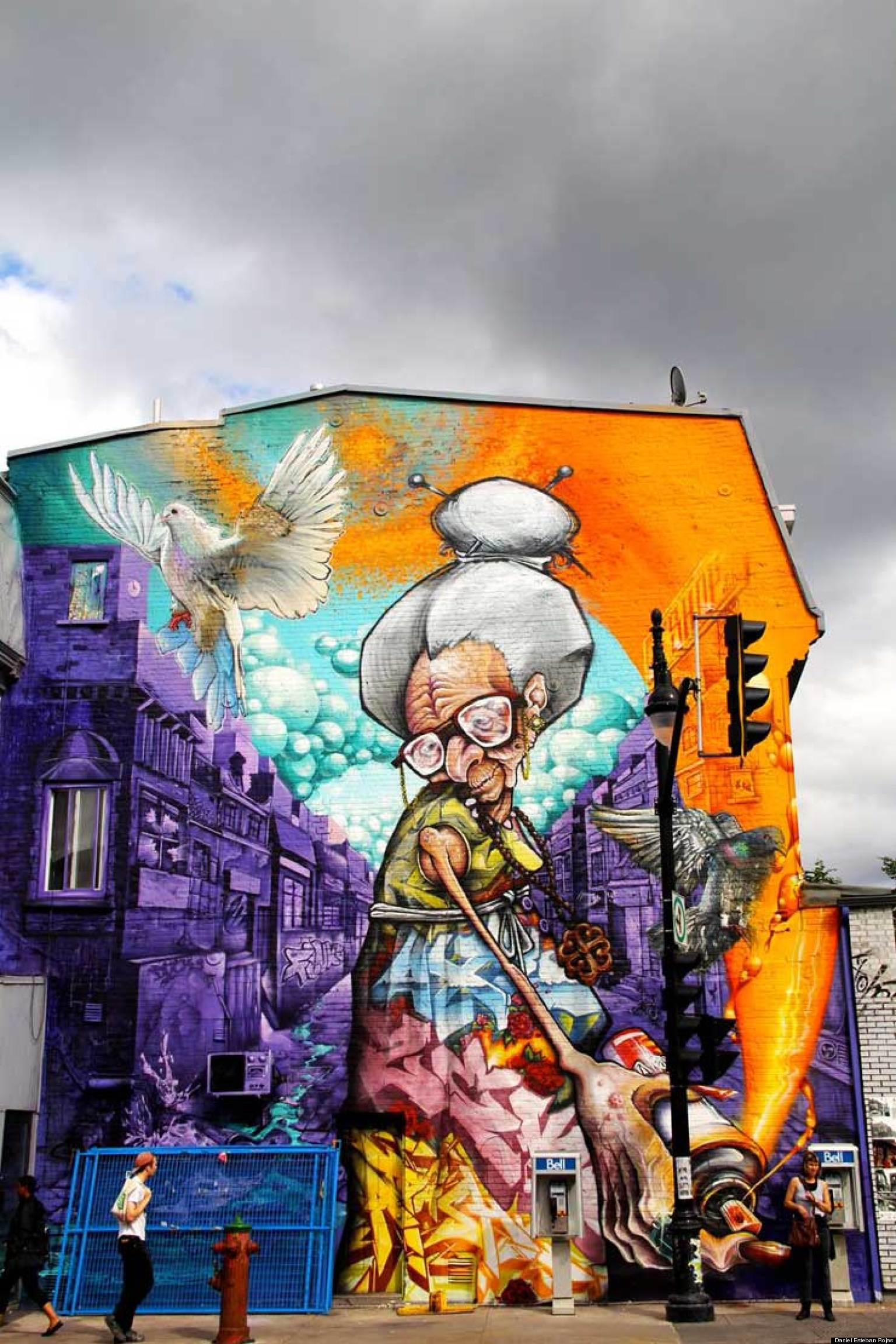 MURAL Festival in Montreal Stakes a Claim for Street Art ...