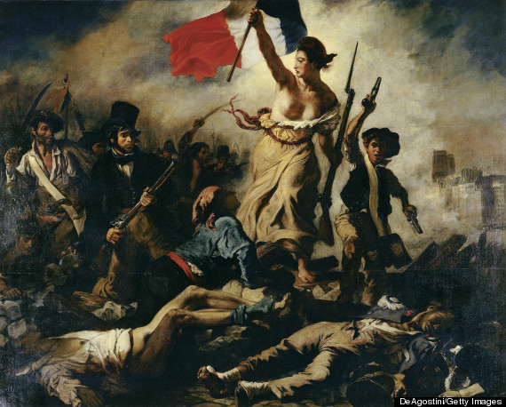 liberty leading the people eugene delacroix