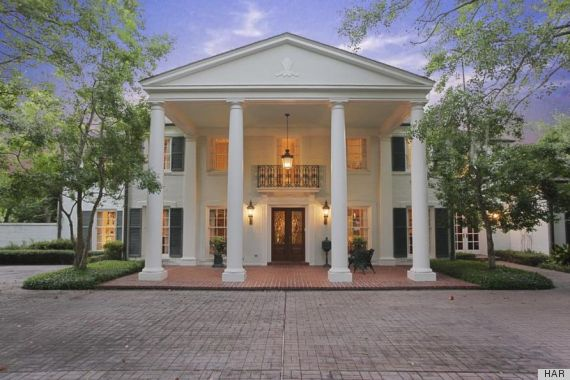 River Oaks Home In Houston, Texas Is A Fine Example Of Colonial ...