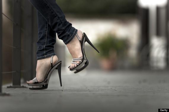 sexy couple high heels porn