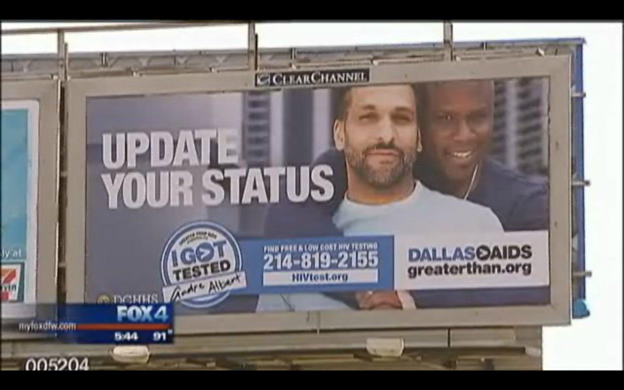 aids billboard homosexuality