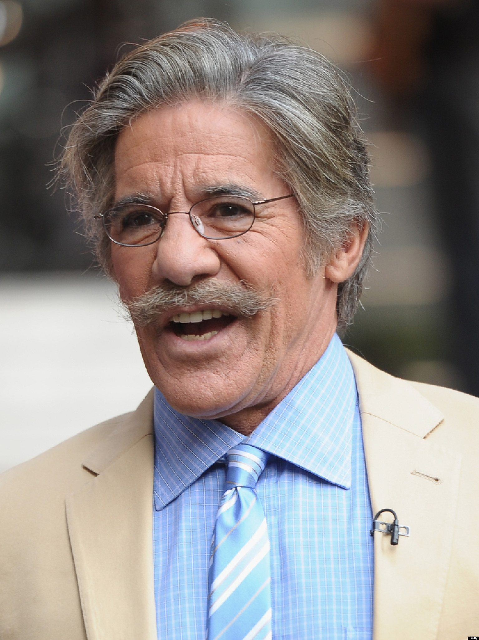Geraldo Rivera's Beard Is Getting Out Of Control
