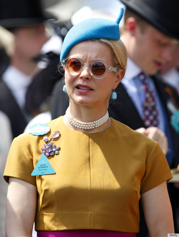Lady Helen Taylor S Style At The Royal Ascot Is Kind Of The Coolest Photos Huffpost