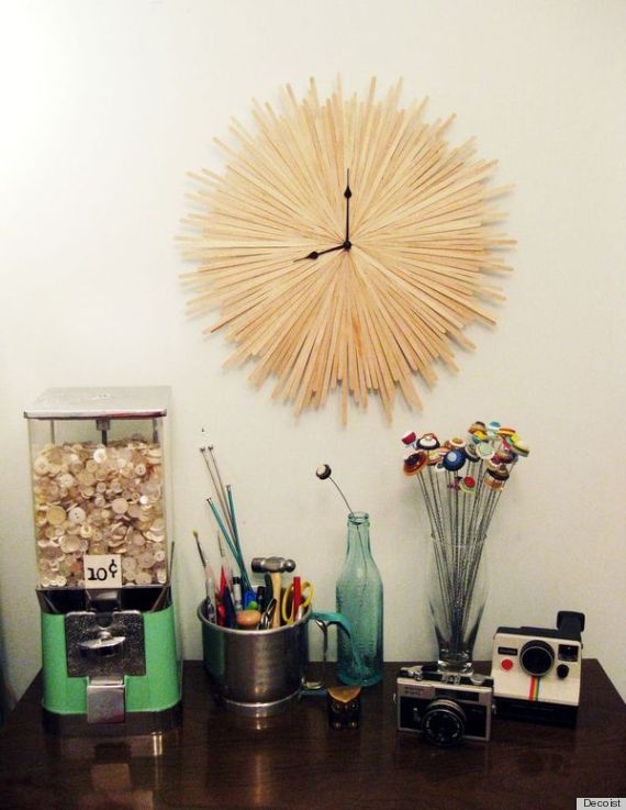7 Clock Ideas That Will Add A Touch Of Diy To Any Space Photos