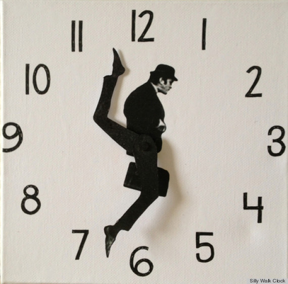 Remarkable Ministry of Silly Walks Clock 570 x 563 · 85 kB · jpeg